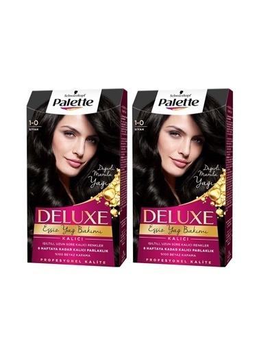 Palette Palette Deluxe 1-0 Siyah X 2 Paket Renkli